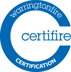 warringtonfire certificate blue