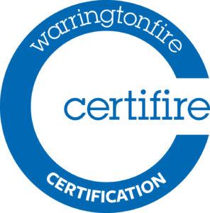 warringtonfire certificate blue