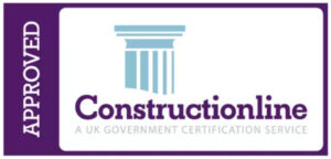 Approved contruction line accredited