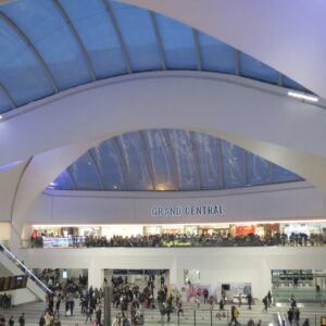 roof openings for New Street Station, Birmingham