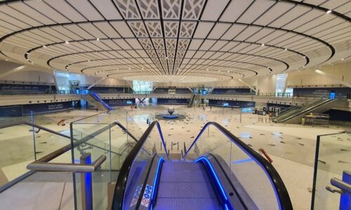 KAIA Jeddah Airport, Dome over Duty free area