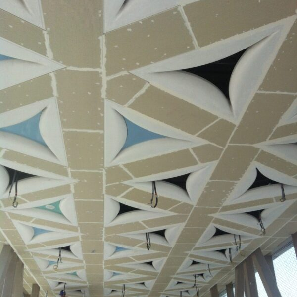Qatar Rail Metro Stations Ceiling detail
